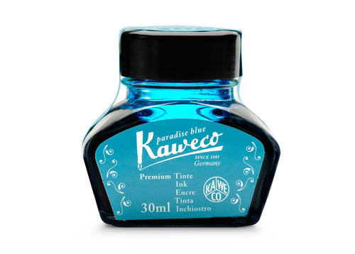 Kaweco bottled ink, 30 ml, Paradise Blue