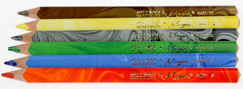 Koh I Noor Hardtmuth magic pencils set of 6