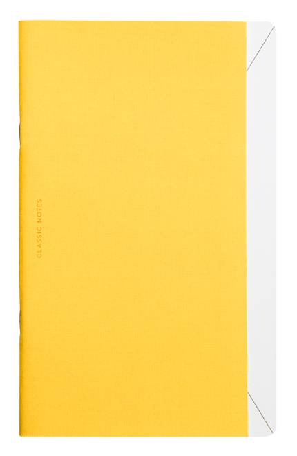 Octaevo Classic Notes notebook, yellow
