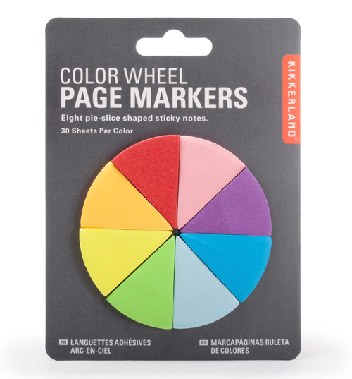Kikkerland colour wheel page markers