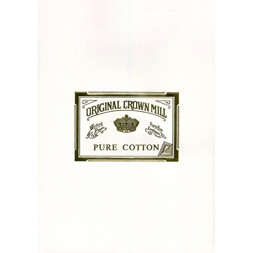 Original Crown Mill Pure Cotton writing paper
