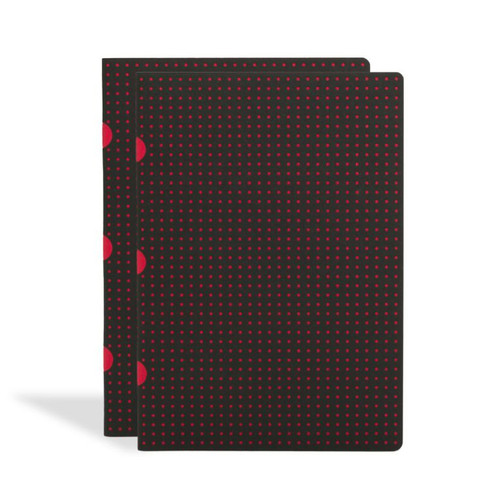 Paper-Oh Circulo A5 Cahier notebooks, 2-pack