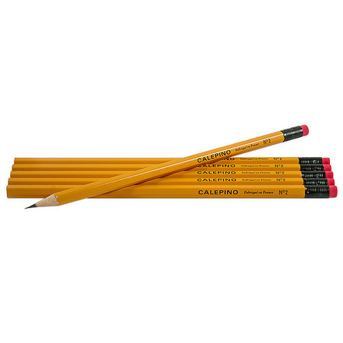 Calepino pencils - yellow