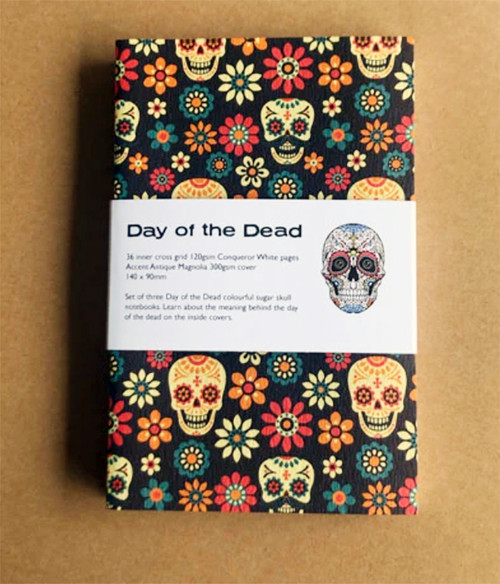 Day of the Dead pocket notebook set