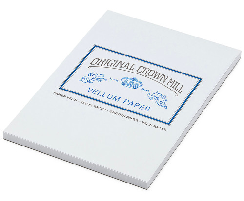 Original Crown Mill A5 writing pad, 50 sheets