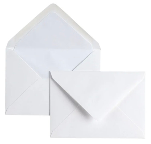 Original Crown Mill C6 lined envelopes