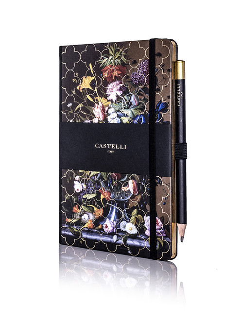 Castelli Vintage Floral notebook, Peony
