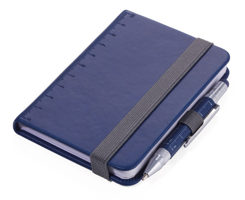 Troika Lilipad notebook and Liliput pen, blue