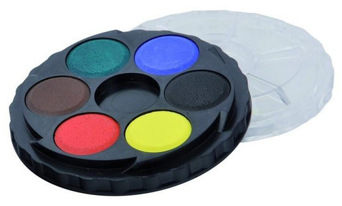 Koh-I-Noor Round Watercolour 1 Tier 6 colours