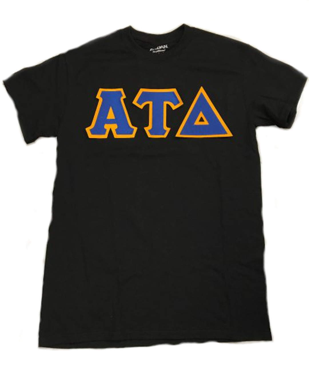 4f2ddcc4 Classic Solid Color Twill Greek Letter Shirt | Greek Shop | S&S ...
