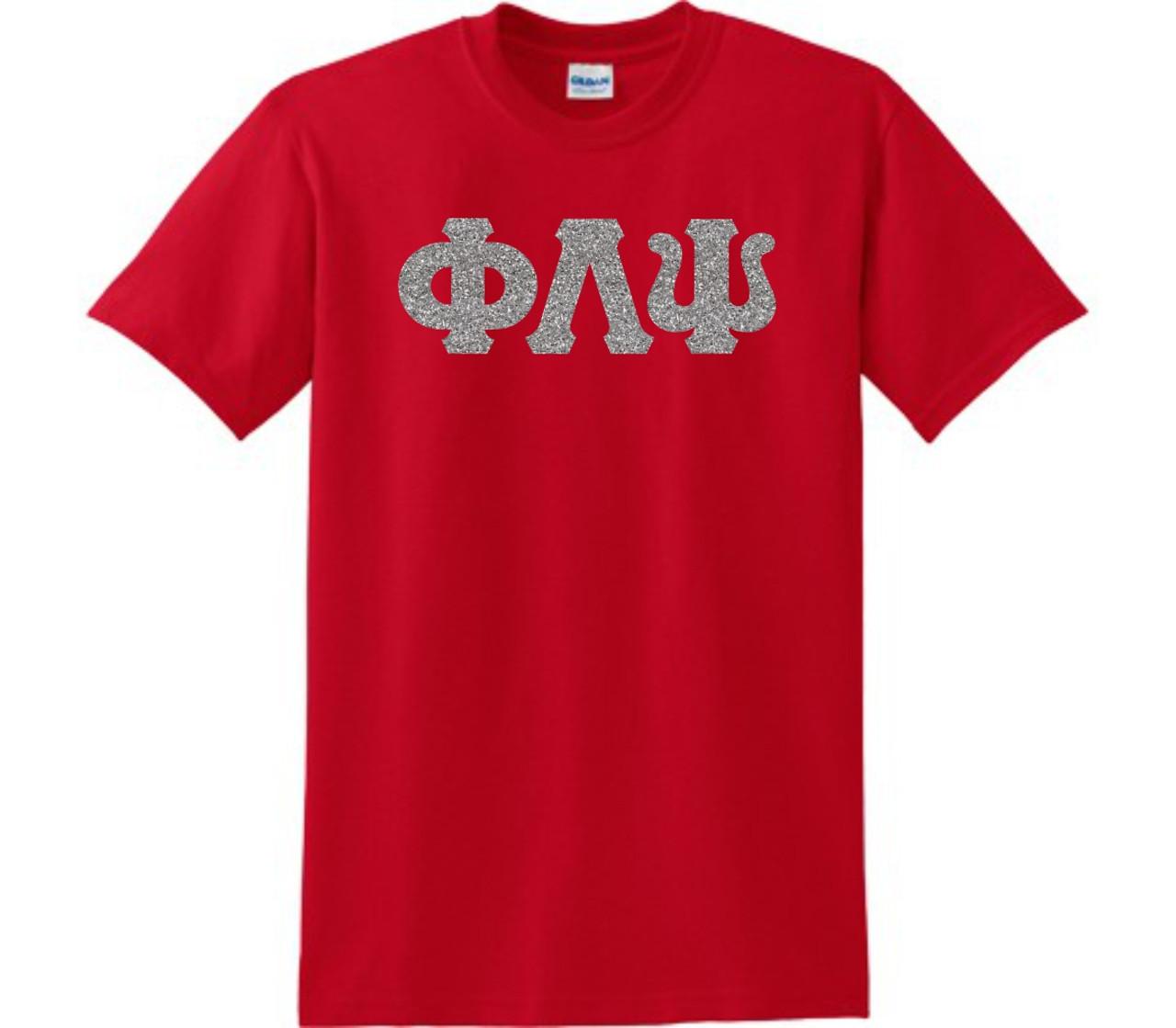 Glitter Greek Letter T Shirt Greek Letter Me By Ss Custom Designs