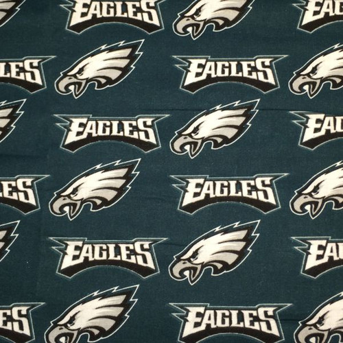 Philadelphia Eagles fabric.
