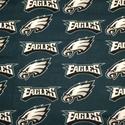 Philadelphia Eagles fabric.
