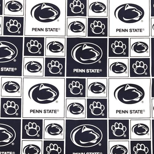 Penn State Greek Letter Fabric