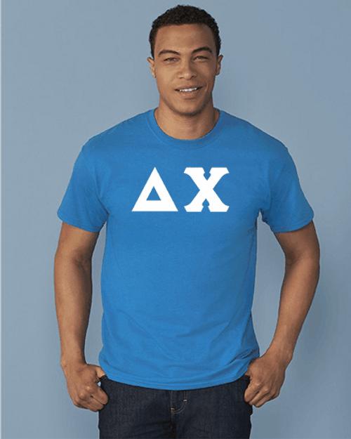 Delta Chi Imprinted Greek Letter T-Shirt