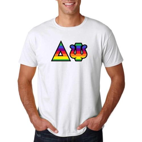 LGBT Flag Greek Letter Apparel