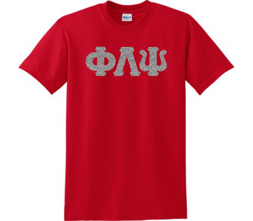 Glitter Greek Letter T-Shirt