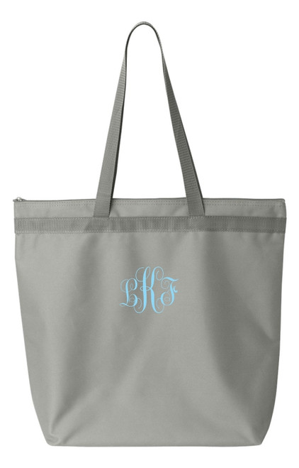 Script Monogrammed Melody Tote Bag