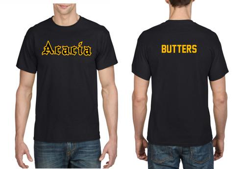 2-Color Sewn Acacia Design