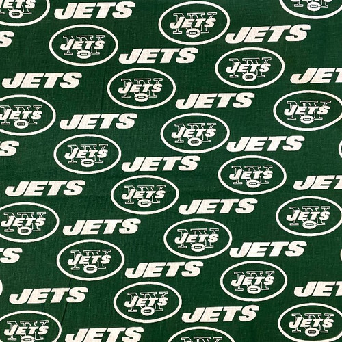 New York Jets Greek Letter Fabric