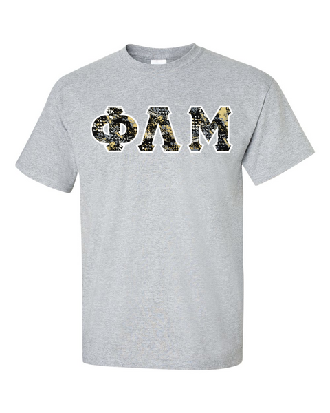 Pittsburgh Penguins 2 Sport Grey Greek Letter T-Shirt