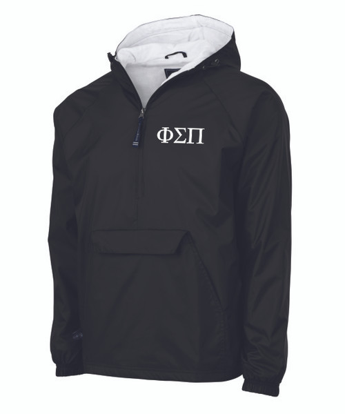 Embroidered Charles River Quarter Zip