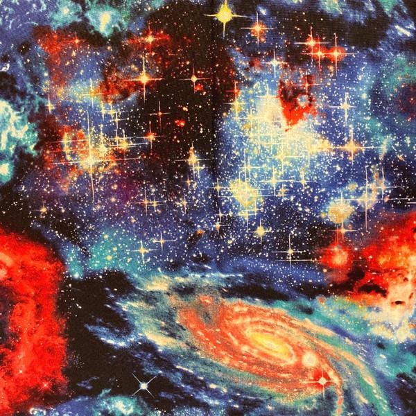 Galaxy 2 Greek Letter Apparel Fabric