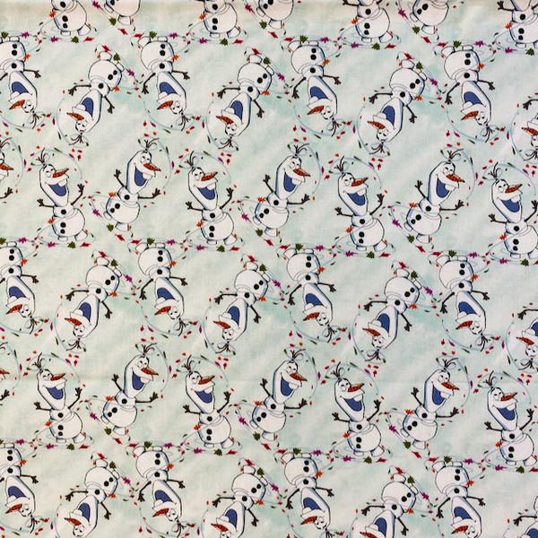 frozen greek letter apparel fabric