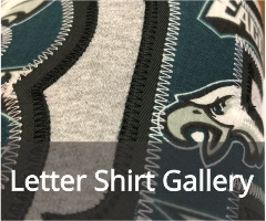 Letter Shirt Gallery