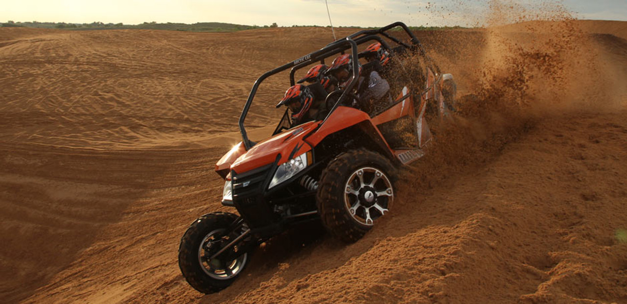 The ride in the Sand can be seriously improved