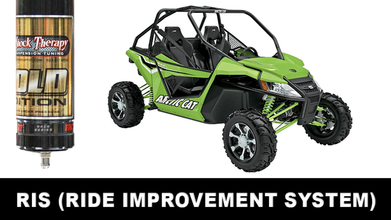 Ride Improvement System (RIS) for Wildcat CALL FOR AN APPOINTMENT