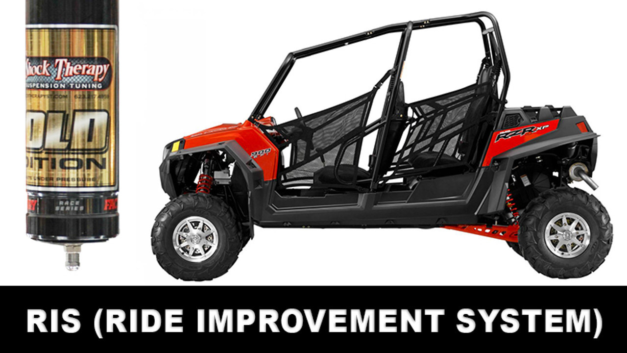 Ride Improvement System (RIS) for RZR XP4 900 CALL FOR AN APPOINTMENT