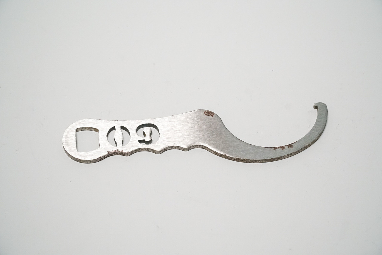 Cross Over and Pre load Spanner Wrench