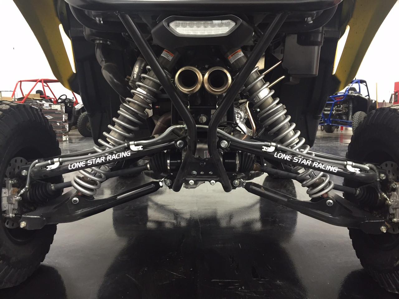 Rear springs installed