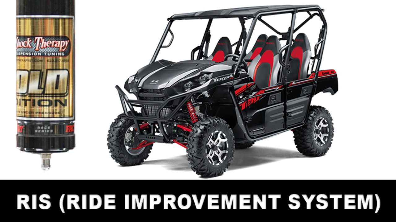 Ride Improvement System Kawasaki Teryx 4 CALL FOR AN APPOINTMENT