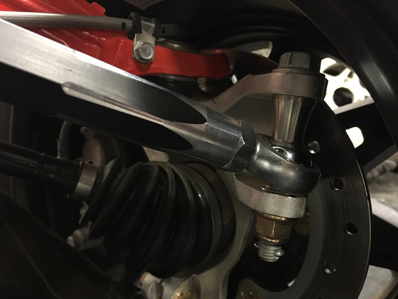 BSD Tie Rod kit installed (patent pending)