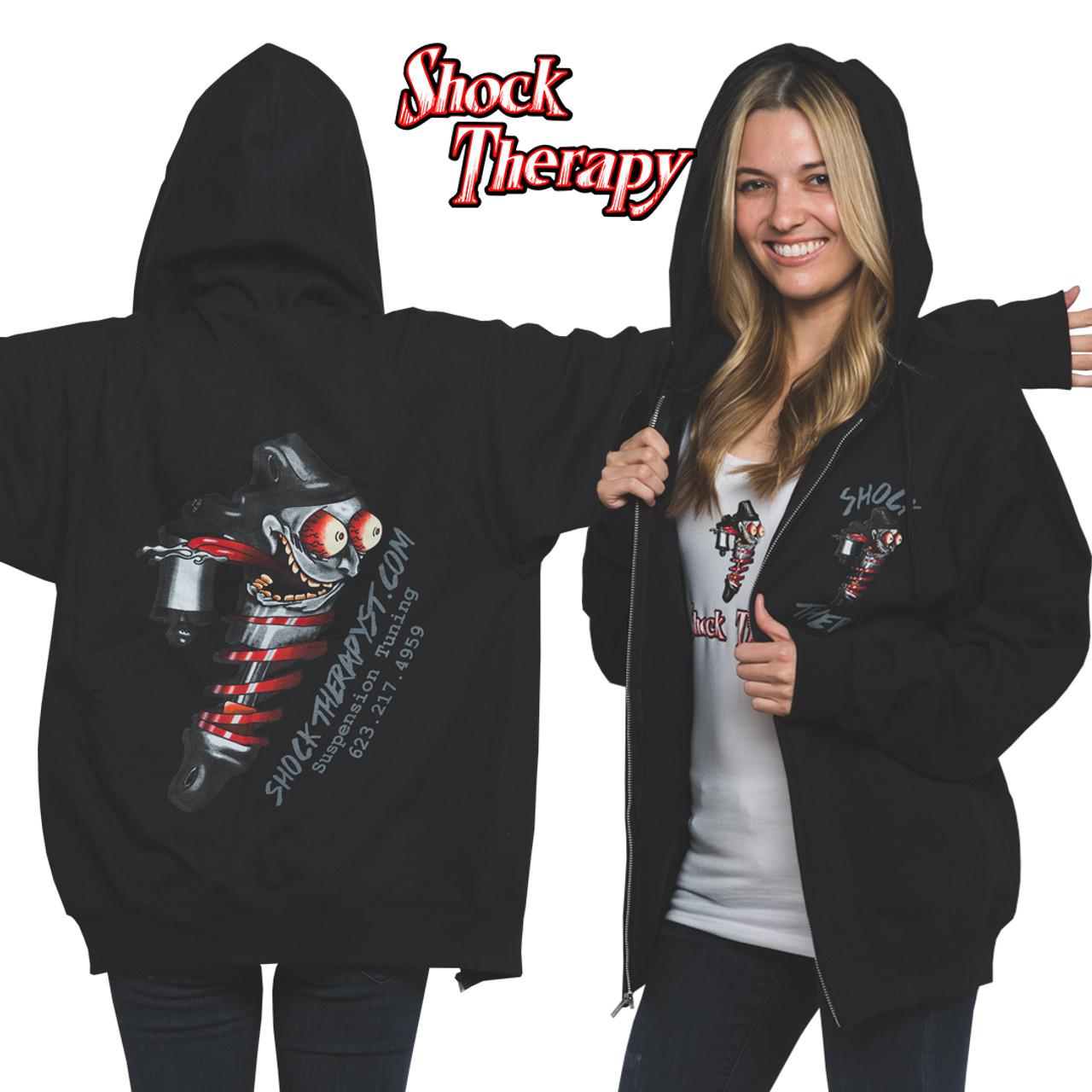Shock Therapy Zipper Hoodie (Free Shipping)