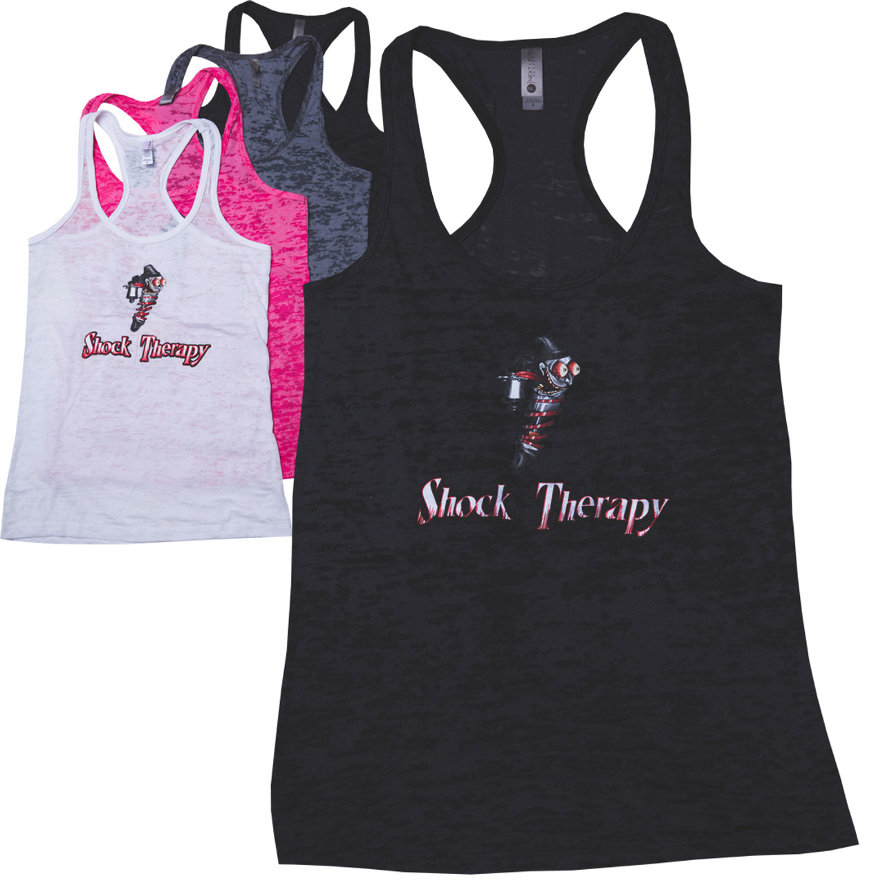 Shock Therapy Women's Burnout Racer Back (Free Shipping)