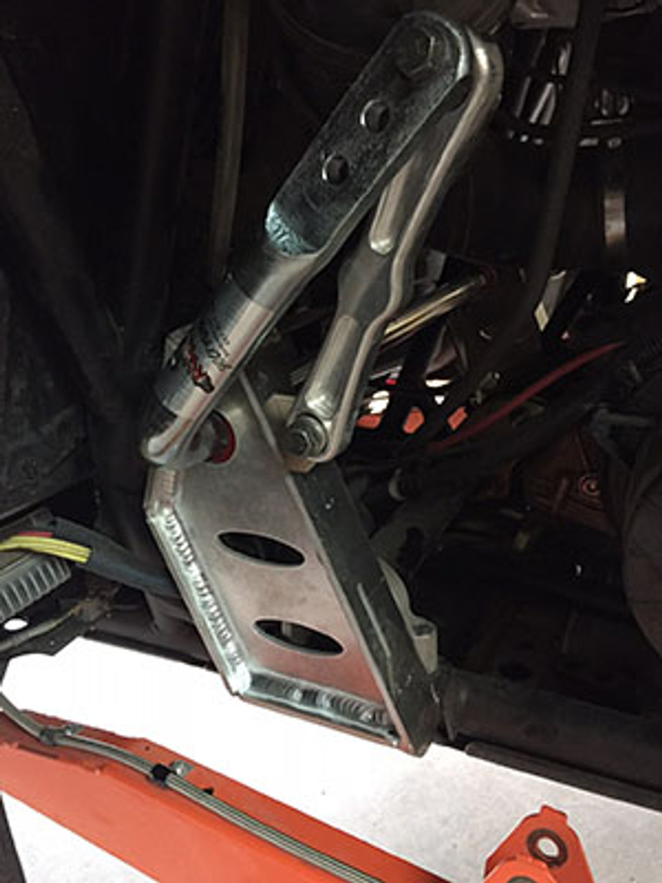 Sway bar function disabled for heavy rock crawling.