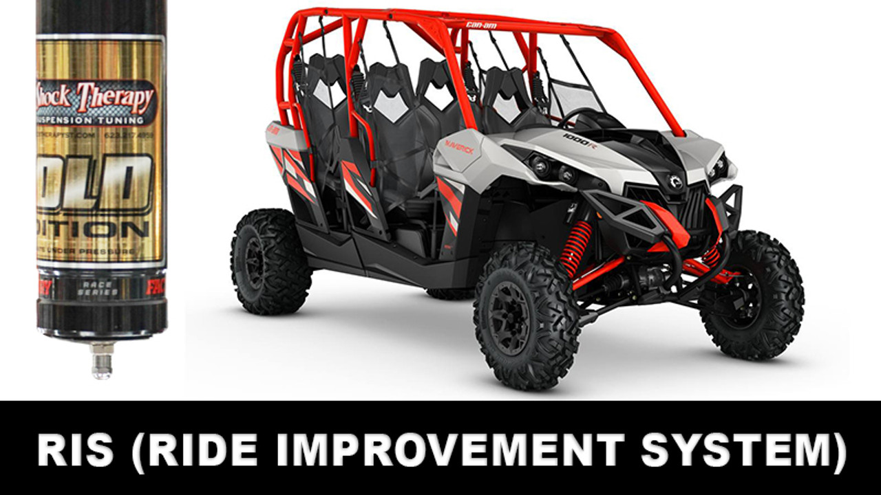 Ride Improvement System (RIS) for 2013-17 Maverick DPS Turbo - Max - Fox 2.5 Shocks CALL FOR AN APPOINTMENT