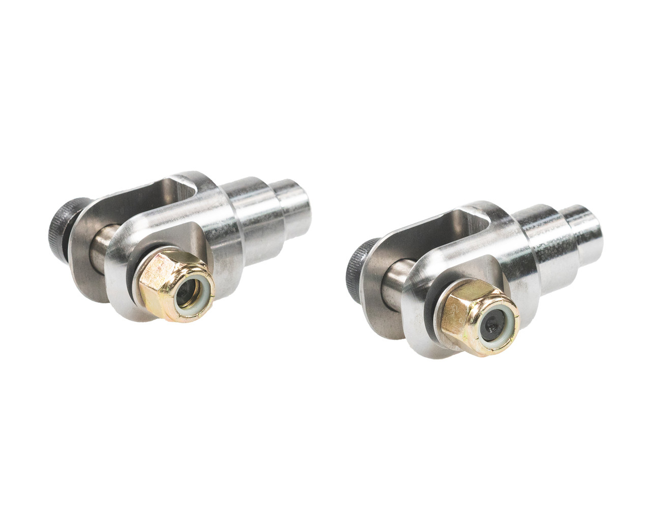 Clevis with 5/8 high tolerance attachment hardware