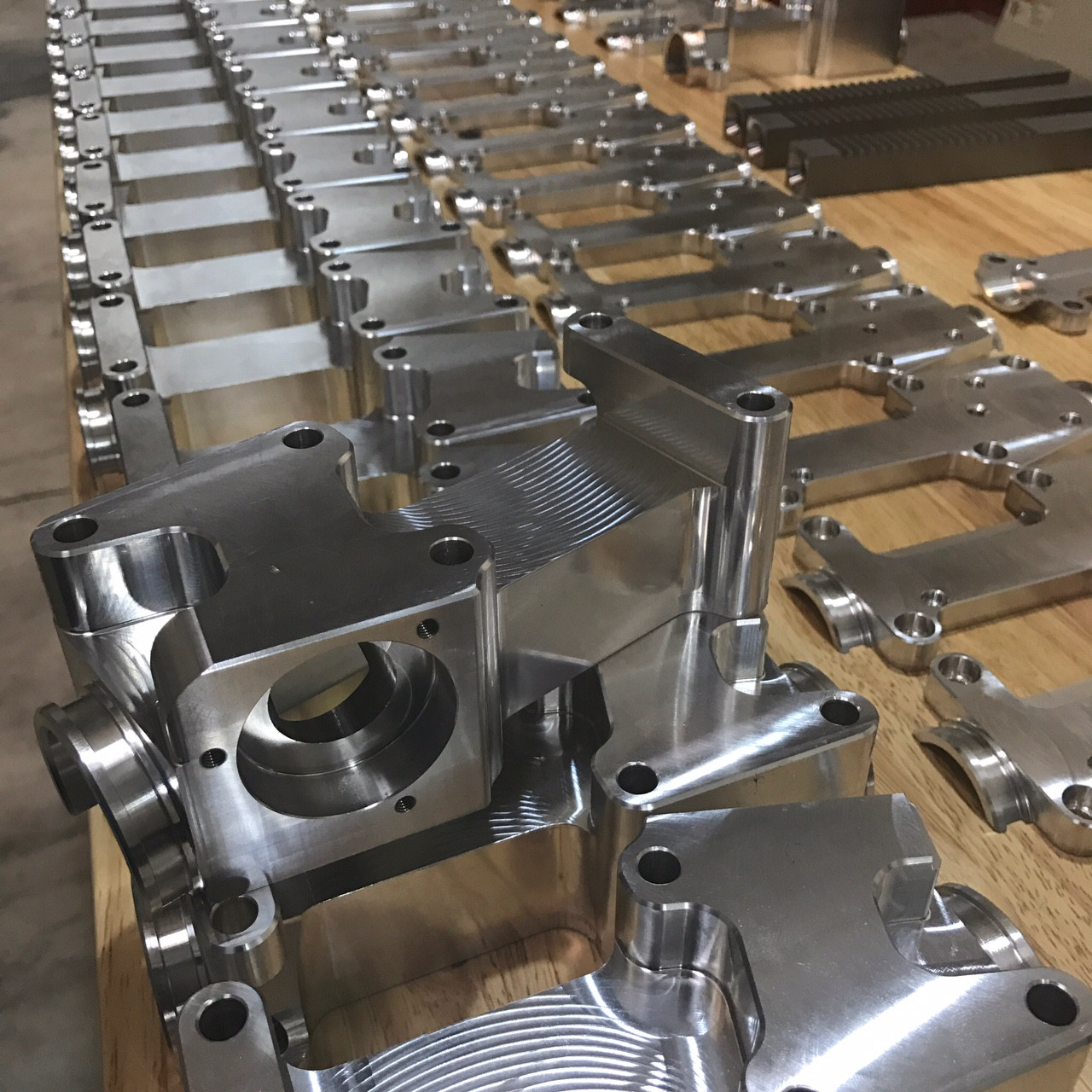 Fresh CNC rack bodies
