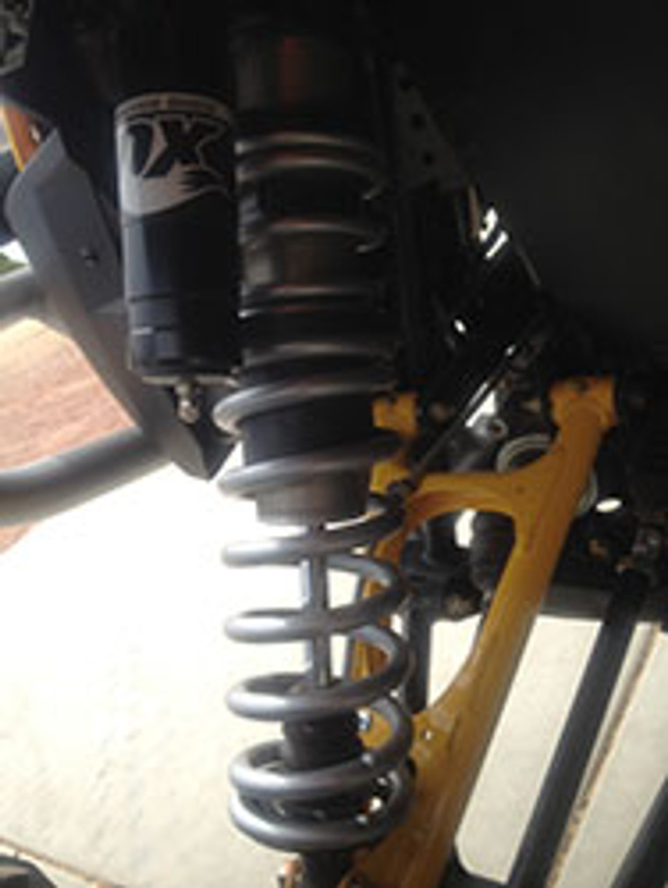 DRS kit on the front shock