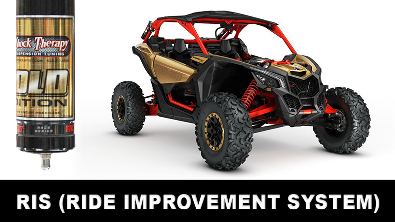 Can Am X3 Tubro RS/ RC/ XMR & MAX Ride Improvement System (RIS)