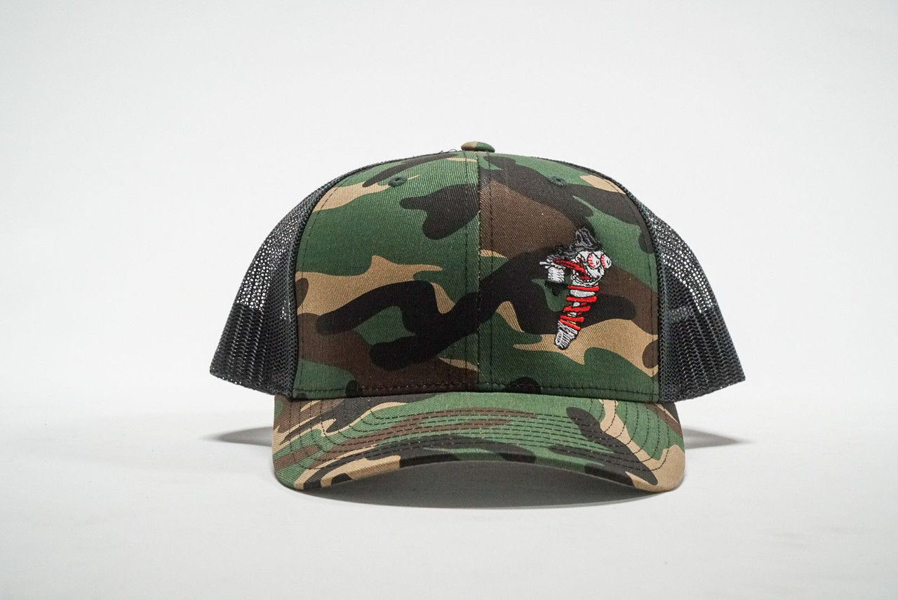 Shock Therapy Camo Mesh back Snapback