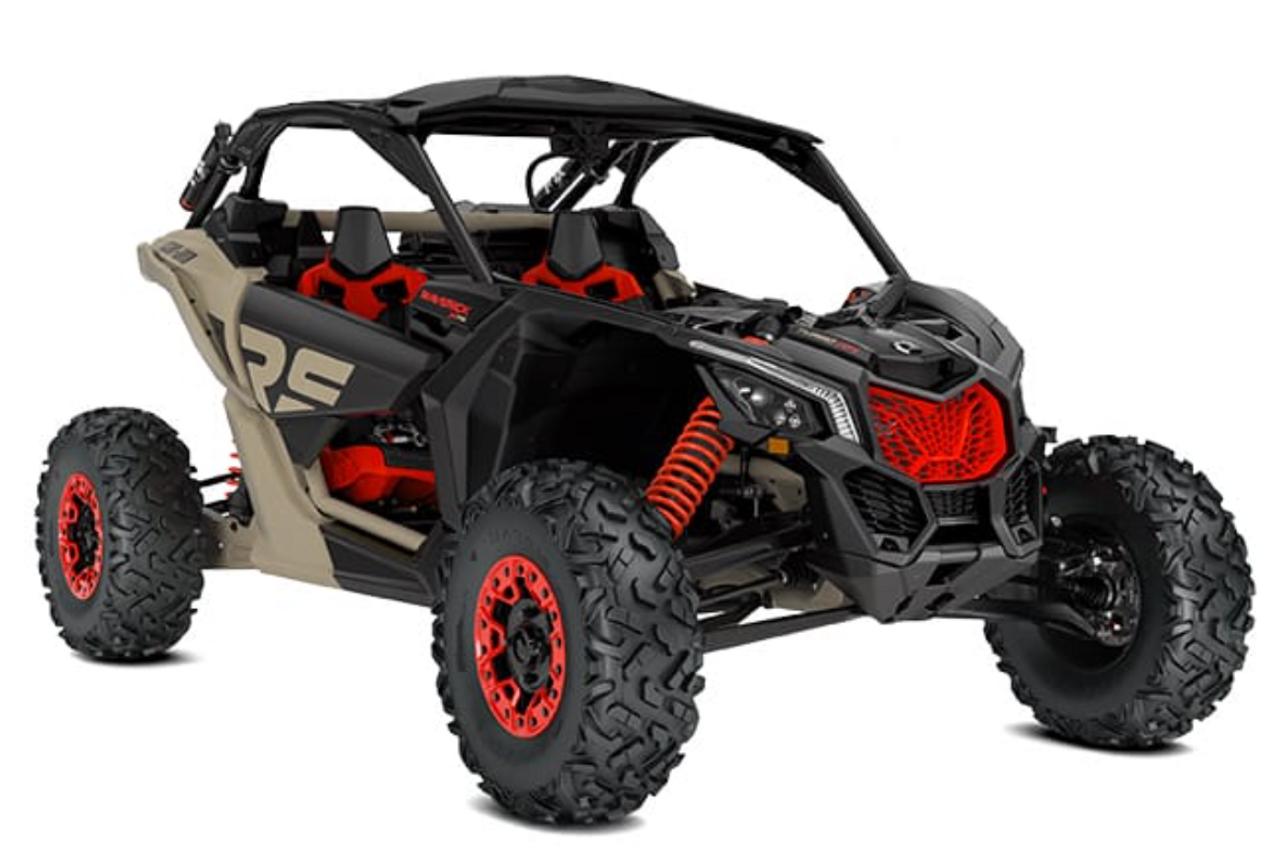 Can Am X3 Turbo R RR w/ Smart Shox Ride Improvement System (RIS)