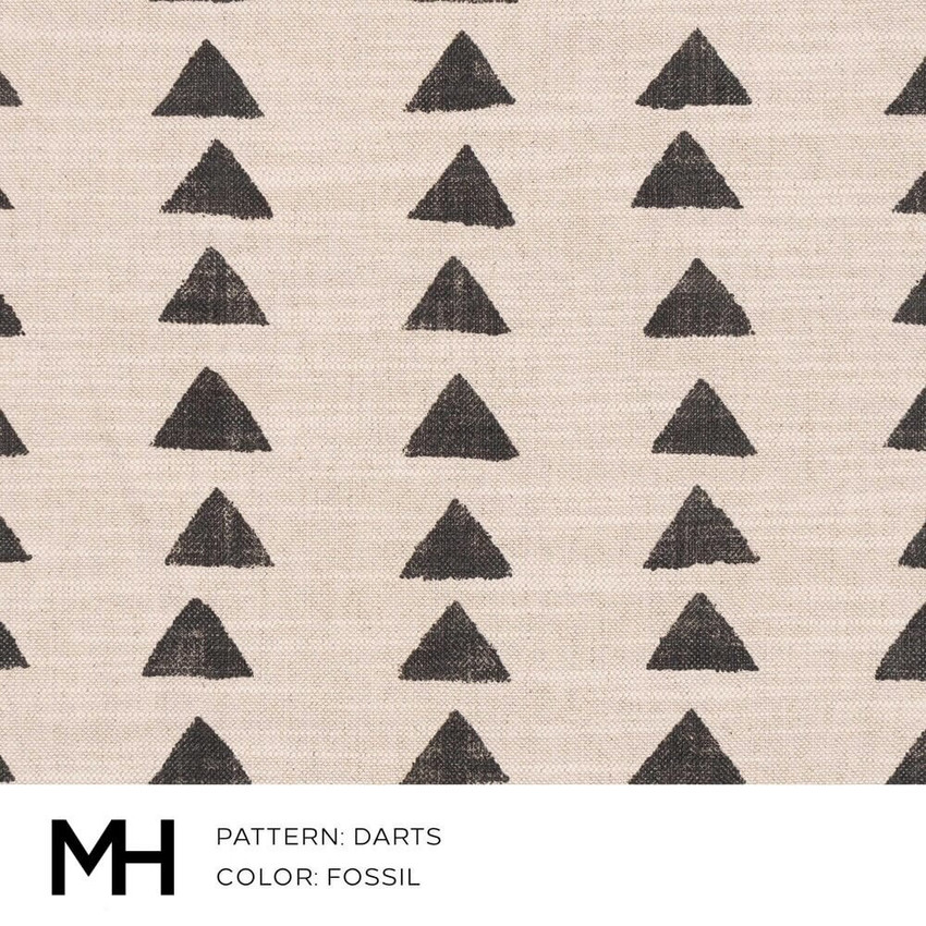 Darts Fossil Fabric Swatch