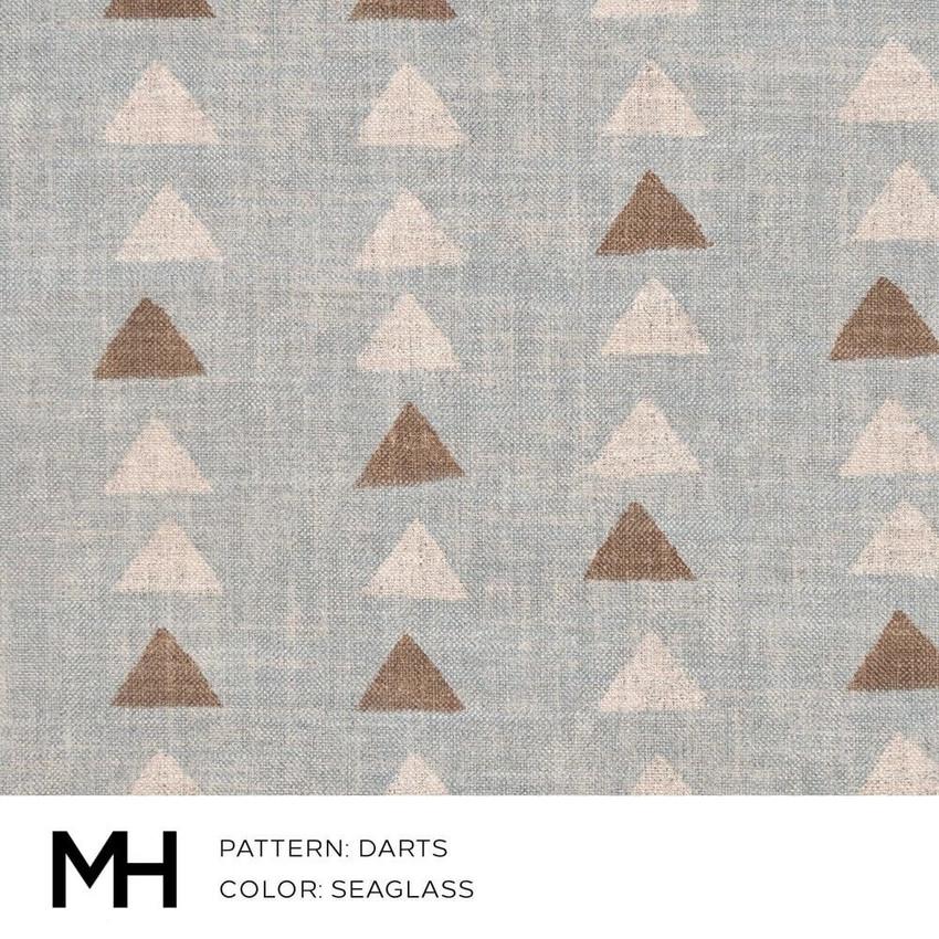 Darts Seaglass Fabric Swatch
