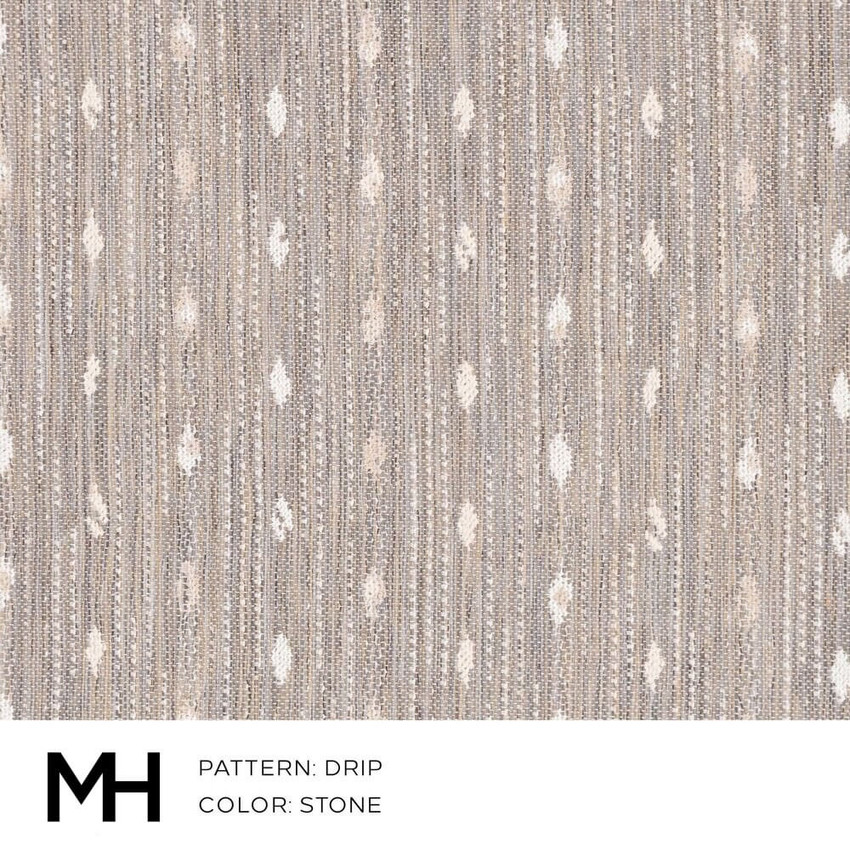 Drip Stone Fabric Swatch