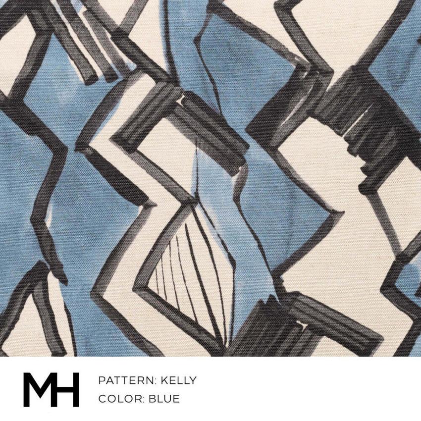 Kelly Blue Fabric Swatch